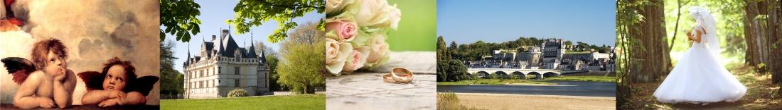 MonaLisa wedding planner organisation mariages chateaux loire histoire robe mariée renaissance