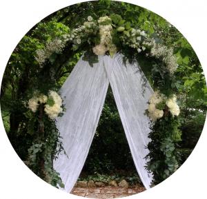 Prestation cérémonie laïque officiante cérémonie mariage MonaLisa mariage wedding planner arche mariage