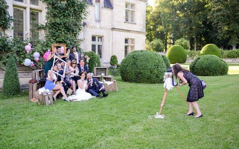 MonaLisa wedding planner tours 37 organisation mariage photobooth château de la bourdaisière montlouis