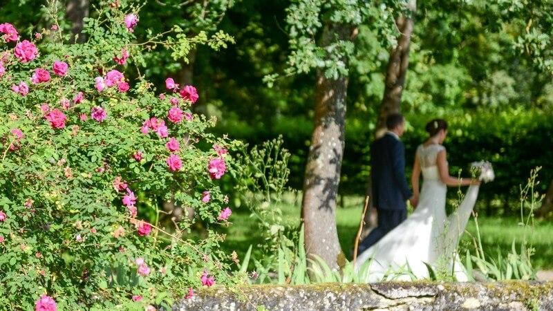MonaLisa wedding planner tours 37 organisation mariage couple fleurs parc chateau