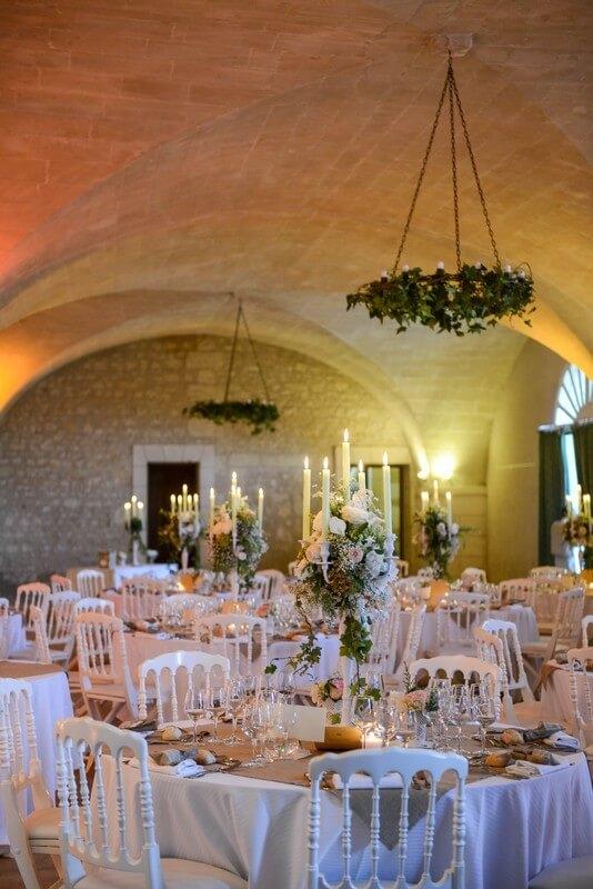 MonaLisa wedding planner tours 37 organisation mariage décoration salle chateau de la bourdaisière