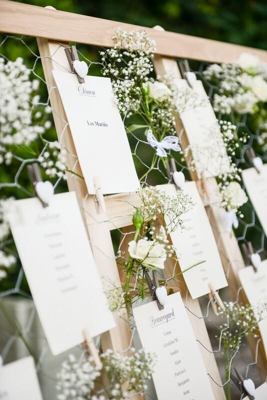 MonaLisa wedding planner tours 37 organisation mariage décoration plan de salle fleurs gypsophile