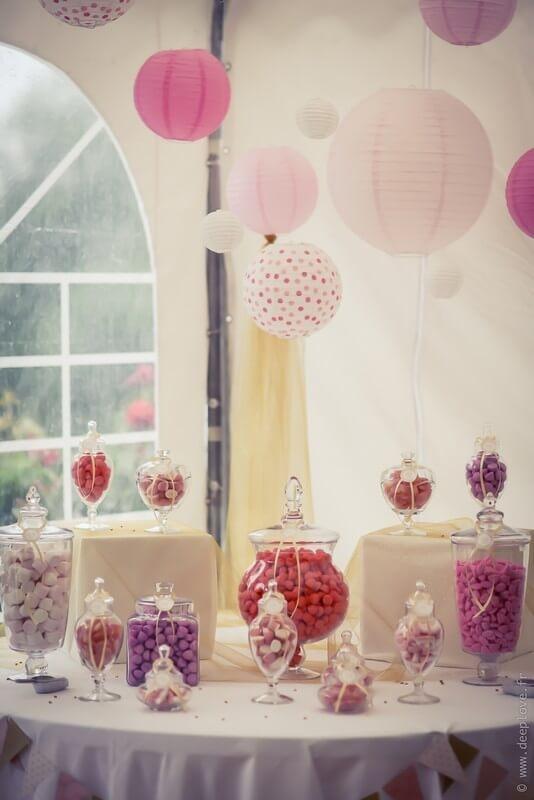 MonaLisa wedding planner tours 37 organisation mariage candy bar décoration bonbonnières rose et pastel