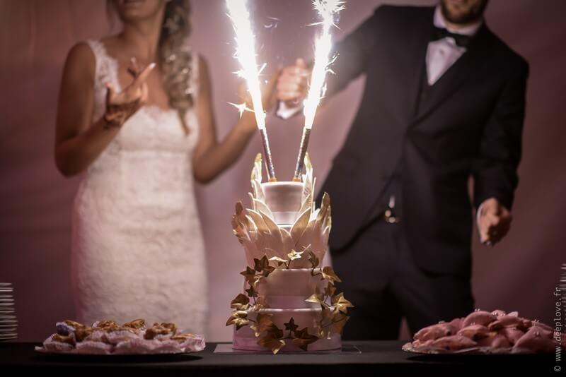 MonaLisa wedding planner tours 37 organisation mariage wedding cake blanc et or