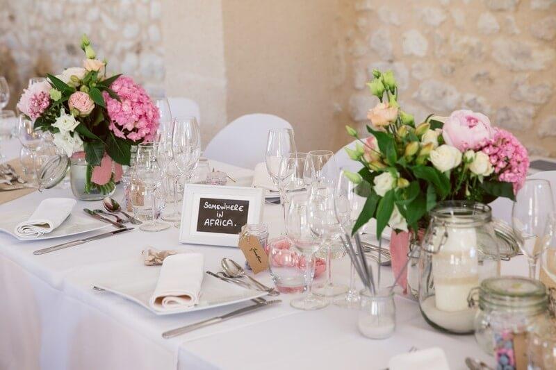 MonaLisa wedding planner tours 37 organisation mariage décoration table champêtre salle armandière