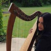 Valérie Patte, Harpiste