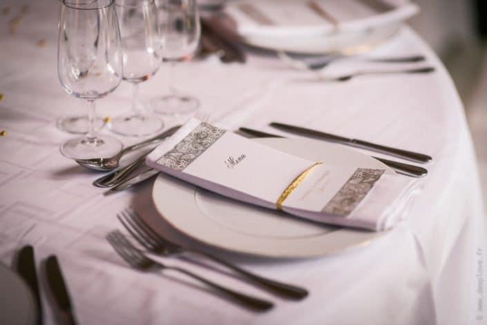 MonaLisa wedding planner tours 37 indre et loire mariage art hotel décoration table blanc et or