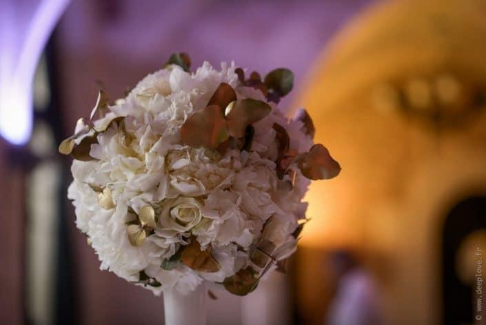 MonaLisa wedding planner tours 37 indre et loire mariage art hotel fleurs blanc et or