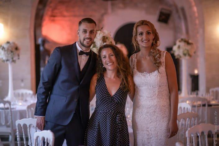 MonaLisa wedding planner tours 37 indre et loire mariage art hotel mariés