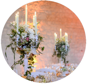 Prestation décoration MonaLisa Mariages Wedding Planner décoration salle mariage