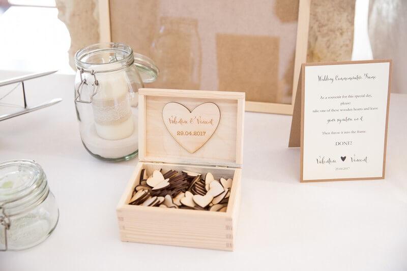 MonaLisa wedding planner tours 37 organisation mariage décoration bois accessoires