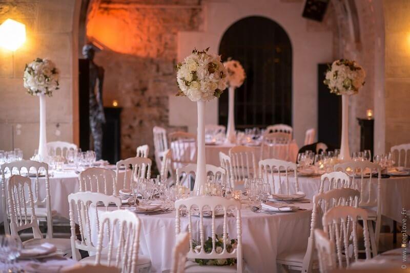 MonaLisa wedding planner tours 37 organisation mariage art hotel rochecorbon décoration mariage blanc et or