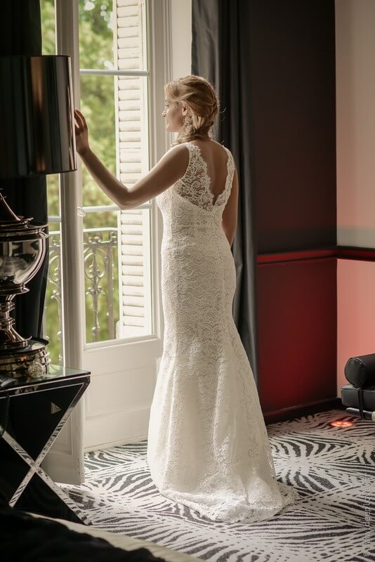 MonaLisa wedding planner tours 37 organisation mariage art hotel mariée robe dentelle sur mesure
