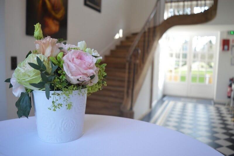MonaLisa wedding planner tours 37 organisation mariage décoration château de la vaudère fleurs pastel