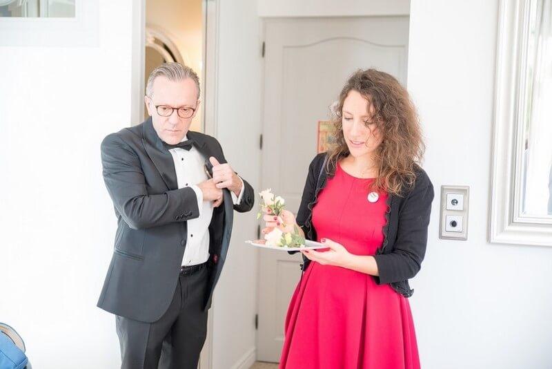 MonaLisa wedding planner tours 37 organisation mariage coordination jour j boutonnière marié