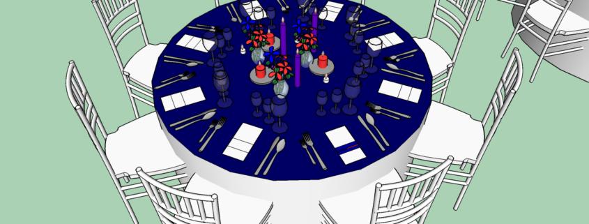 monalisa wedding planner tours 37 modélisation salle mariage