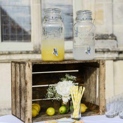 limonade mariage cocktail chateau bourdaisiere wedding planner tours 37