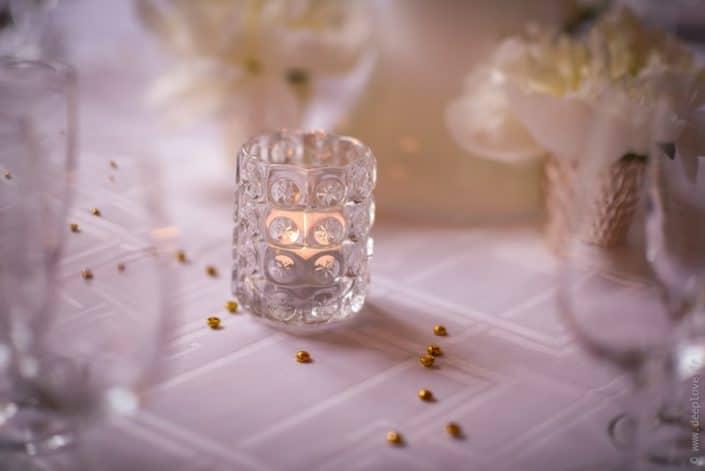 MonaLisa wedding planner tours 37 indre et loire mariage art hotel décoration table blanc et or f