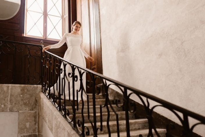 Bride Wedding planner loire valley castle mariage laborde saint martin