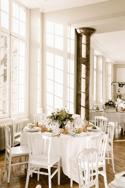 décoration mariage or anglaisWedding planner tours laborde saint martin