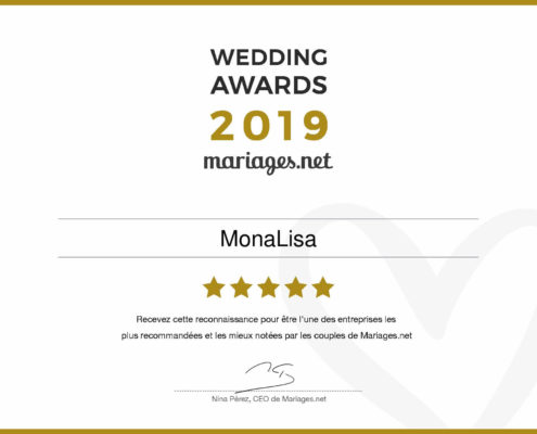 Weddingplanner- Tours- Indre et LoireWedding_Awards_2019