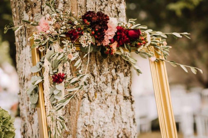 wedding planner - Tours- Indre et Loire- composition florale