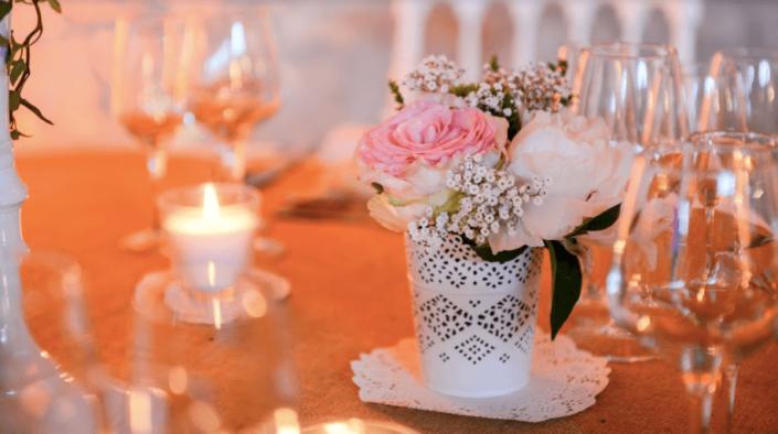 wedding- planner- tours - indre et loire- fleurs tables