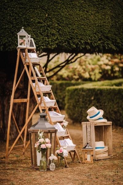 accessoires invités carnet cottonbird or papeterie wedding planner