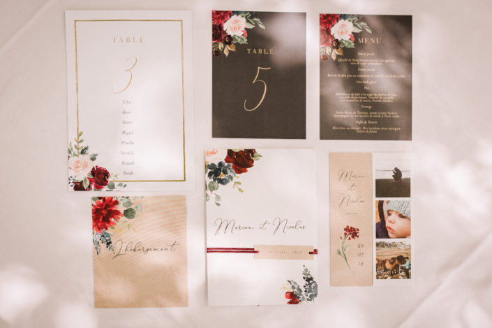 wedding-planner-tours-mariage-papeterie-menu-table